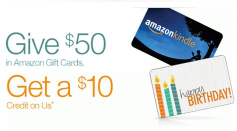 Someone Sent Me An Amazon Gift Card - give 50 in amazon gift cards get a 10 promotional credit