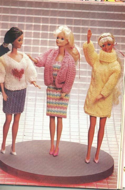 fashion doll knitting herbie s doll sewing knitting crochet pattern