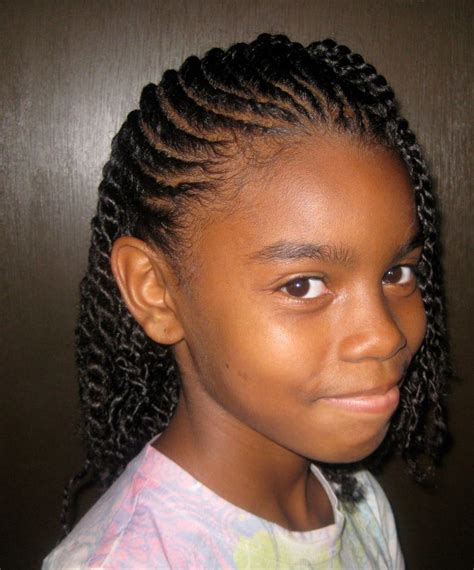 twist hairstyles for black women very pretty flat twist hairstyle for little girls so