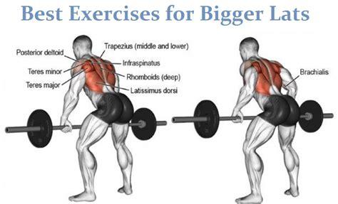 best lat exercises palace big lats workout
