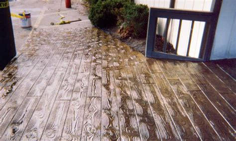 wood pattern sted concrete drain and sewer repair concrete parking lots concrete