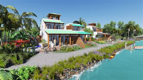 Open Floor Plans New Homes Real Estate In Corozal Belize Belize Waterfront Villas
