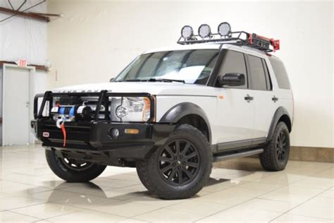 custom land rover lr3 custom land rover lr3 lifted winch 3rd row sunroof arb