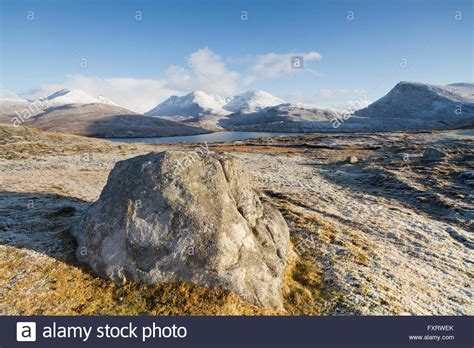 Winter Outer outer hebrides winter stock photos outer hebrides winter