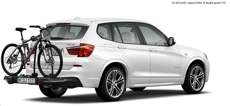 bmw x3 bike rack trunk bicycle carrier for 2013 x3