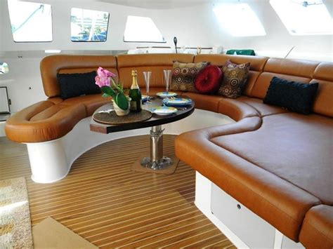 Banquette Upholstery Banquette Design House Boat Interior S For Stephen