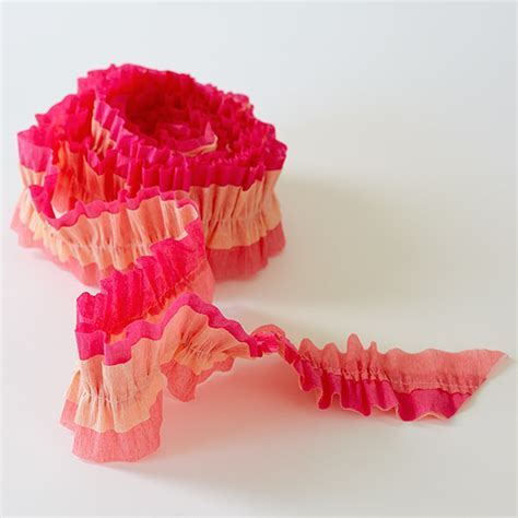Ruffled Crepe Paper Streamers   Hallmark Ideas & Inspiration