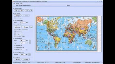 printable world map multiple pages how to print a map on multiple pages or tile printing