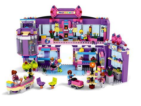 Lego Cogo 4511 Girs cogo friends series shopping mall14511 810 pcs building