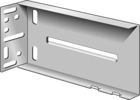rear mounting bracket frame cabinet drawer slides