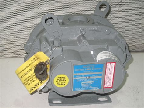 dresser roots 6510502l rotary lobe blower new ebay