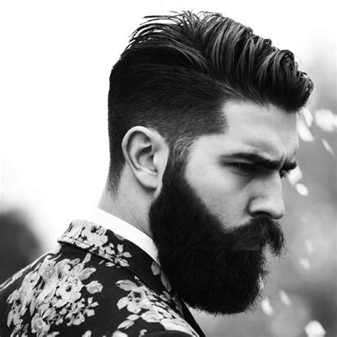 beard and undercut hairstyles 14 trendy undercut hairstyles to compliment your beard on