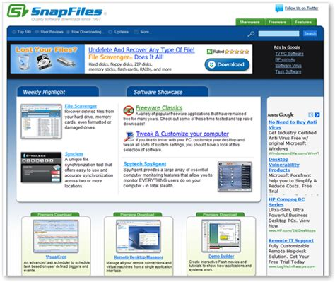 software web top 15 of the best windows freeware software websites
