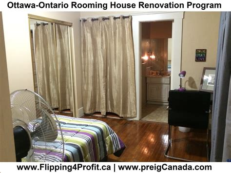 ottawa ontario rooming house renovation program