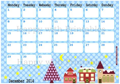 printable christmas december 2015 calendar pdf happywithprintables calendar december 2014 printable