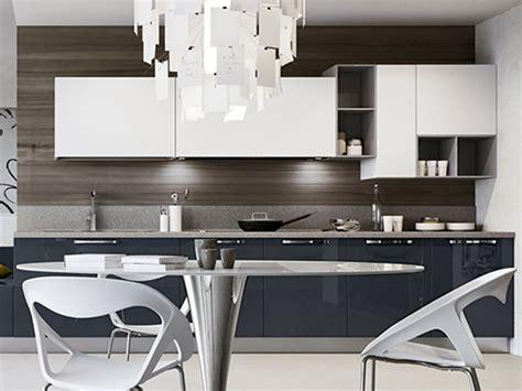 cucine con soggiorno cucina lineare moderna con soggiorno arredo