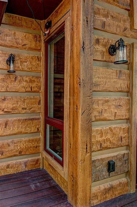 log cabin siding best 25 log siding ideas on log cabin siding