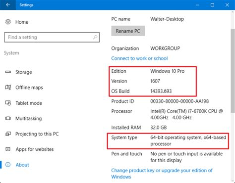 How To Search On Or Not How To Find Out Which Build And Version Of Windows 10 You