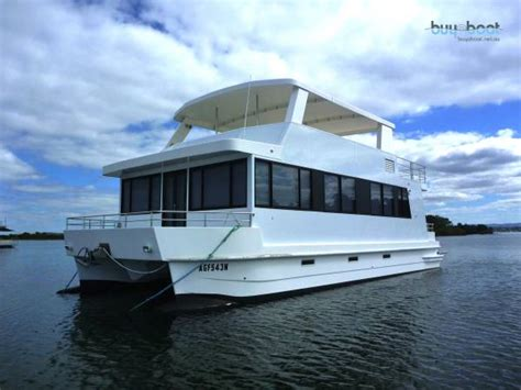 house boats for sale nsw powercat can go outside and built to survey requirments house boats boats online