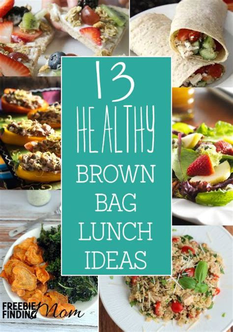 13 healthy brown bag lunch ideas
