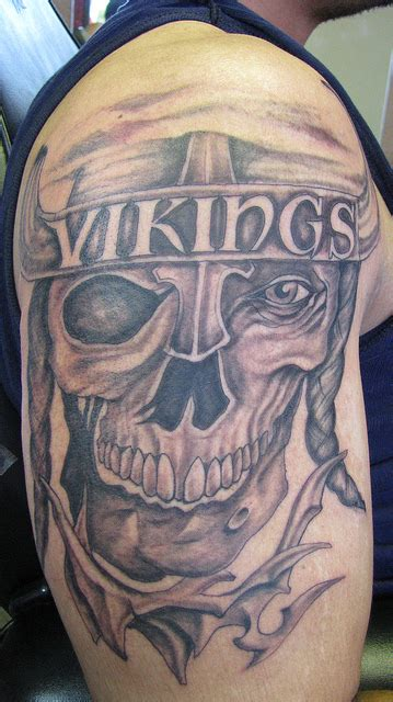 viking skull tattoos viking images designs