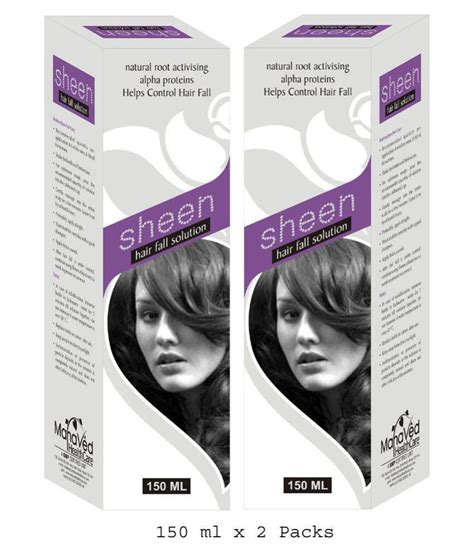 Hair Problem Solutions by Mahaved Healthcare Sheen Hair Problem Solution 300 Ml