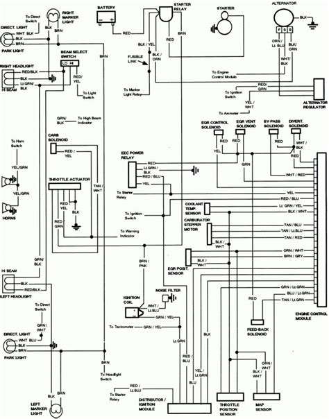 diagram lights wiring diagram    ford truck