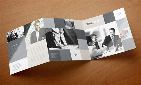 30 Fresh Simple Yet Beautiful Brochure Design Ideas Awesome Templates Square Trifold Brochure Template
