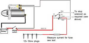 simple 12 volt glow wiring diagram simple get free image about wiring diagram