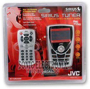 jvc kt sr ktsr sirius portable tuner  ks pd