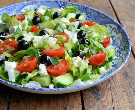 greek salads a classic greek salad recipe lavender and lovage