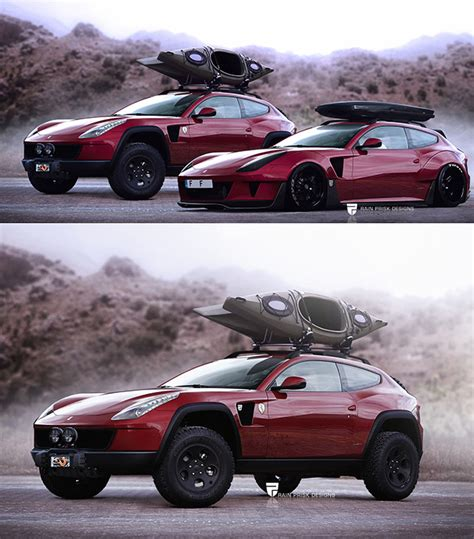 ferrari off road off road ferrari ff suv and 10 more awesome supercar