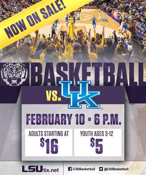 uk basketball schedule tickets lsu vs kentucky basketball tickets on sale