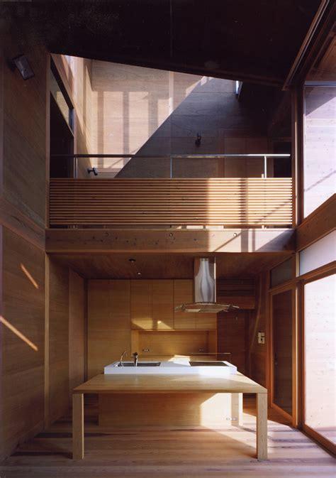 Modern Farmhouse Floor Plans japanese wooden houses courtyard multi level decks and a