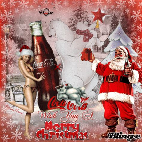 enjoy  hollidays coca cola    merry christmas picture  blingeecom