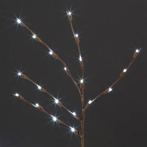 New Home Accents Holiday Led Twig Pathway Lights White Twig Lights