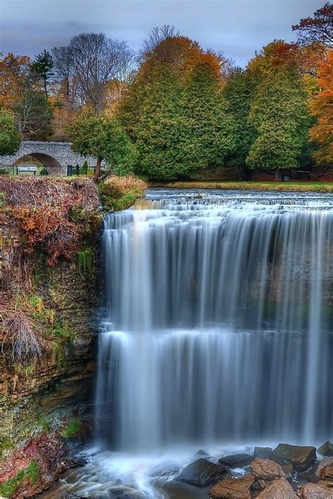 colorful waterfall wallpaper allwallpaperin  pc