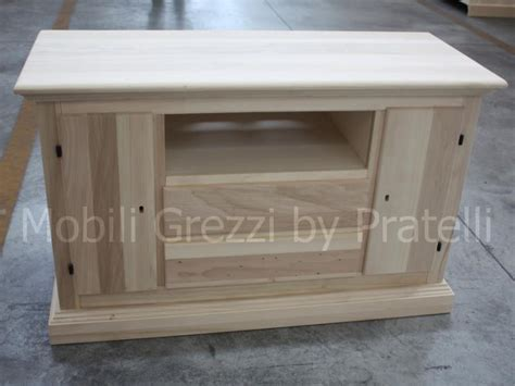 mobili legno grezzo vendita mobili porta tv grezzi mobile grezzo porta tv 2 ante e 2