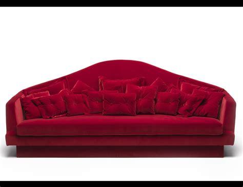 sofas red nella vetrina red carpet luxury italian sofa upholstered