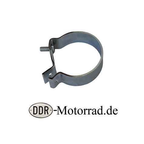 Motorrad Auspuff Neu Verchromen by Tragschelle Auspuff Zigarre Mz Rt 125 Ddr Motorrad