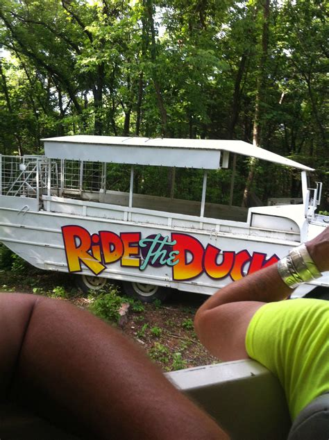 duck boat acronym go from road to water and enjoy table rock lake on ride