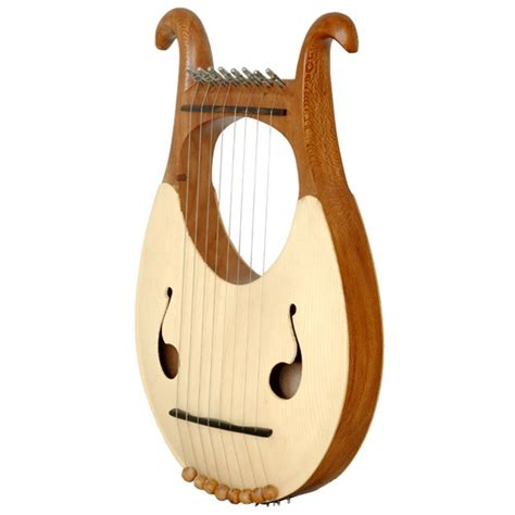 6 inch l harp 8 string lyre harp with string set tuning