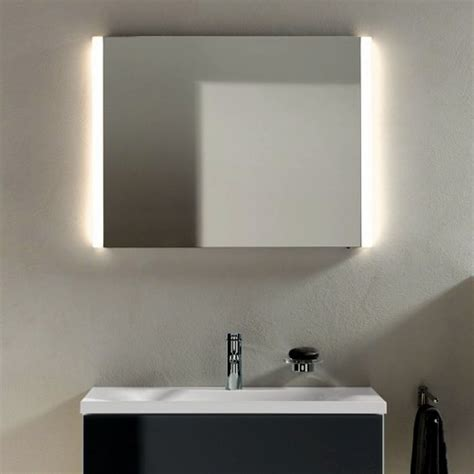 illuminated bathroom mirror keuco elegance illuminated bathroom mirror uk bathrooms