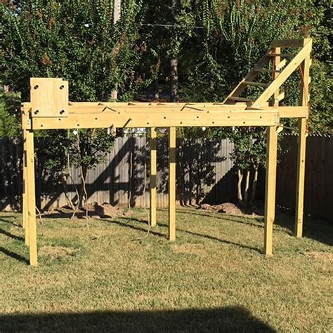 backyard ninja warrior course ninja warrior course complete blueprints