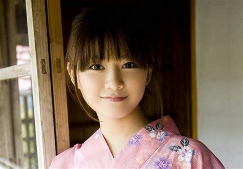 Kimono Pink Muda natsumi kamata pink kimono asia cantik