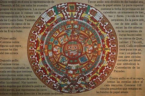 Calendario Azteca Meses Aztecas Legado Cultural Socialhizo