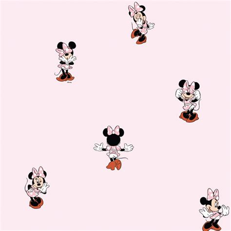 galerie disney minnie mouse childrens bedroom wallpaper