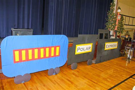 how to make a polar express paper christmas tree i was curious polar express church