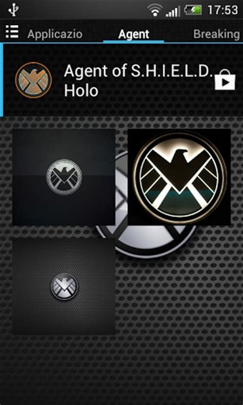 themes agent iphone download agent of shield style theme for android appszoom