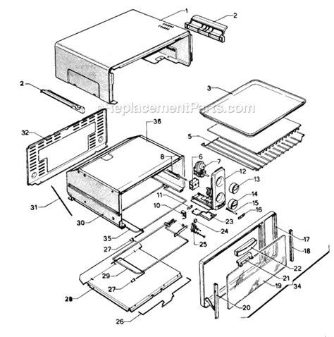 Delonghi Toaster Oven Replacement Parts Delonghi Xu16 Parts List And Diagram Ereplacementparts Com